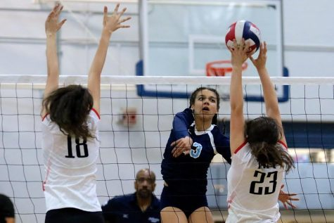 Girls Varsity volleyball season ends with a loss in City Finals