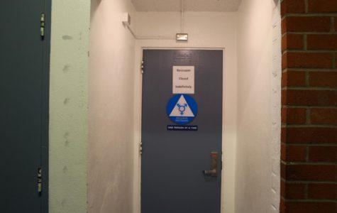 M-Building gender-neutral bathrooms reopen