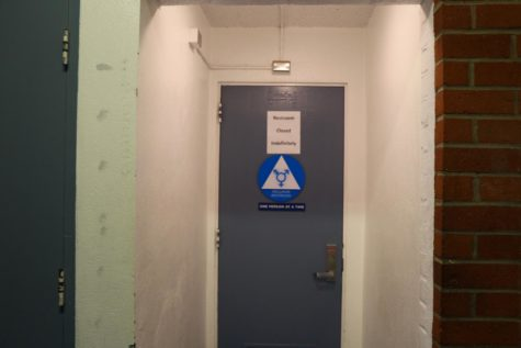 M-Building gender-neutral bathrooms reopen