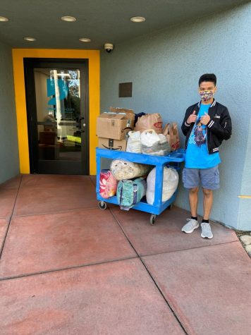 Pali High Student Assembles Kits to Help the Homelessness